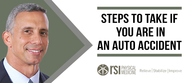 Steps to take if you are in an auto accident